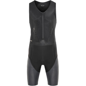 Skins DNAmic Triathlon Herr with Front Zip svart